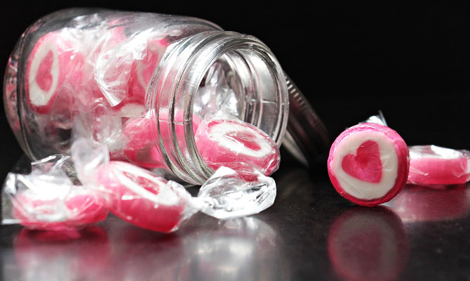 Herz-Candys