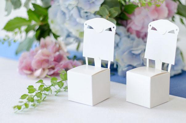 Sesselboxen als Mandelverpackung