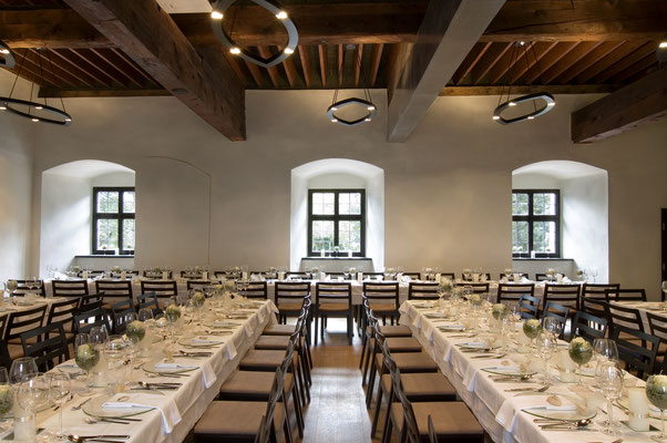 Tafel im Beheimsaal - Burg Hasegg