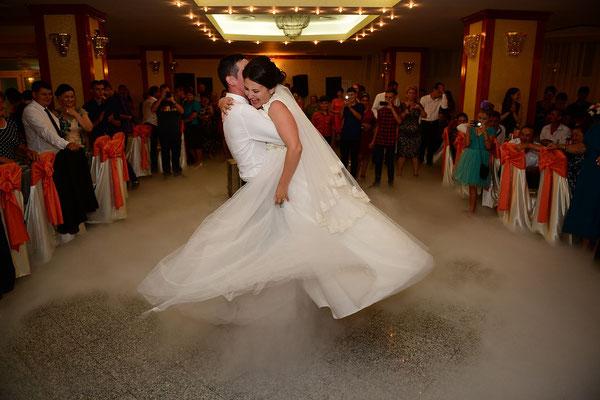Tanzeinlage bei der eigenen Hochzeit