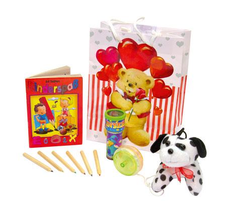 Spielsachen für die Jüngsten Hochzeitsgäste