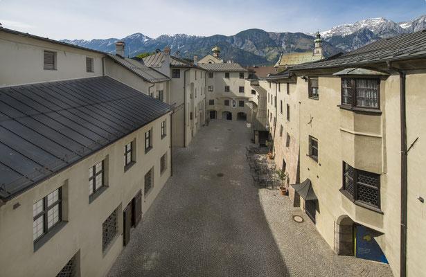 Burginnenhof - Burg Hasegg