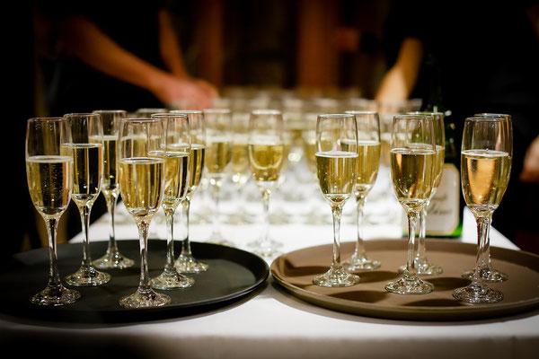 Sekt und Champagner - DIE Hochzeitsgetränke