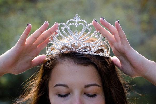 Wie eine Königin