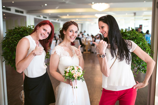 Hochzeitsbetreuung durch das Team von MAKE MY DAY