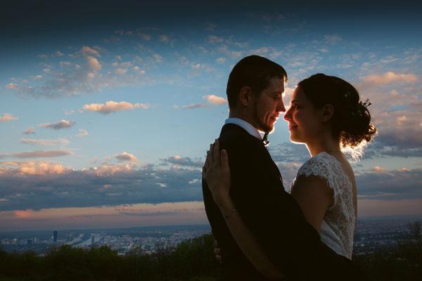 Romantische Hochzeit am Kahlenberg - Andrea und Alex