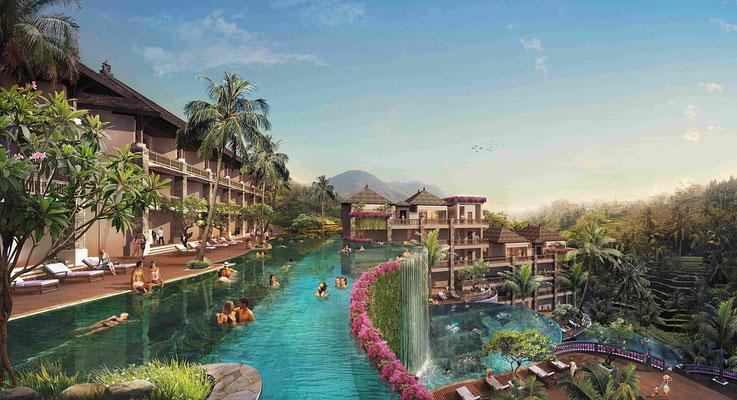 Flitterwochen auf Bali - Ubud