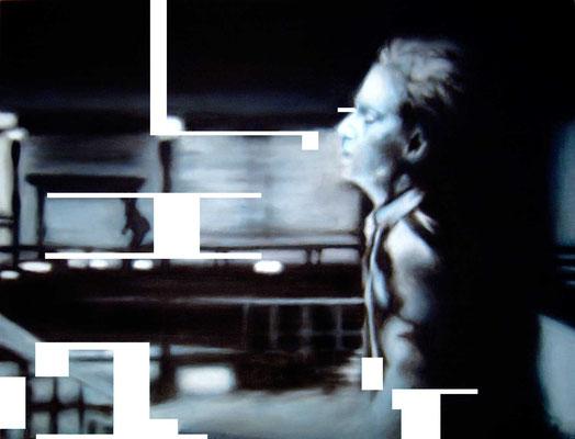 <b>Pulp 5</b><br />2004<br />Acryl auf Baumwolle<br />146 x 108 cm