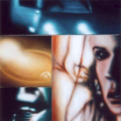 <b>View III</b>2000<br />Acryl auf Baumwolle<br />70 x 70 cm
