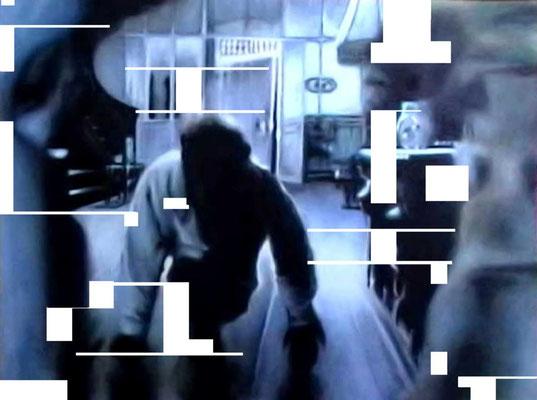 <b>Frontal I</b><br />2003<br />Acryl auf Baumwolle<br />125 x 100 cm