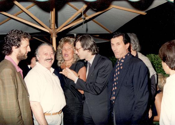 Armando Casodi, Vittorio Sgarbi e Gianni Minà