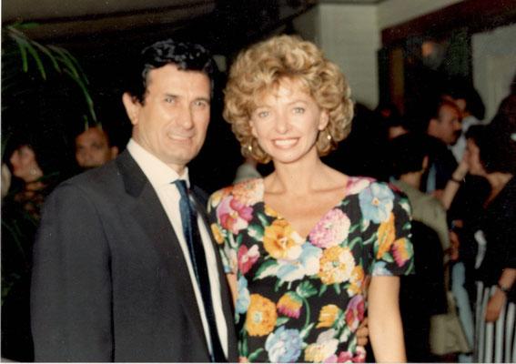 Armando Casodi con Enrica Bonaccorti