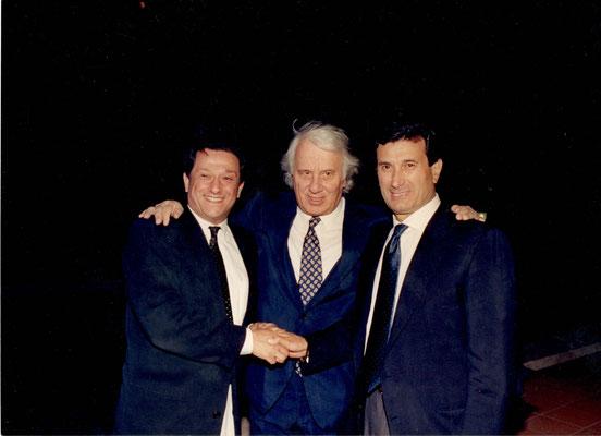 Armando Casodi, Gianni Fabbri e Sergio Bernardini