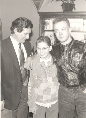 Armando Casodi con Enrico Ruggeri