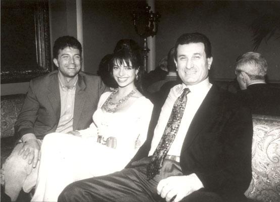 Armando Casodi con Natalia Estrada