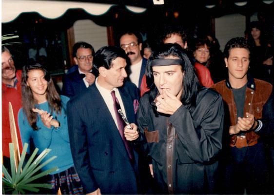 Armando Casodi con Renato Zero