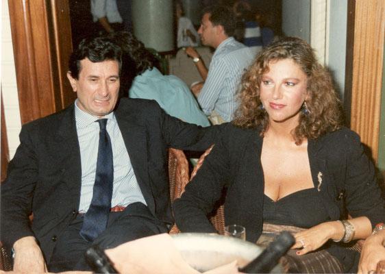 Armando Casodi con Stefania Sandrelli