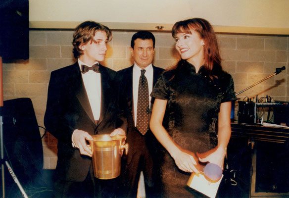 Armando Casodi, Francesco Corsi e Miriana Trevisan
