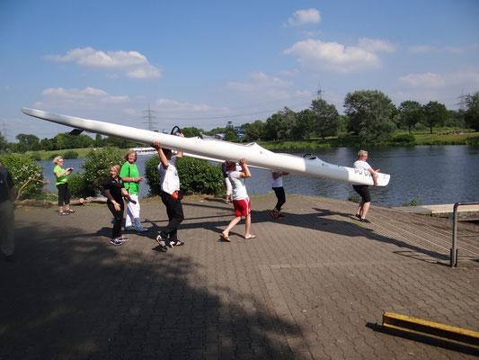 Outrigger Regatta   Bochum Juni 2015