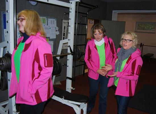 Jackenübergabe des Förderverein St.- Marien - Hospital Lünen