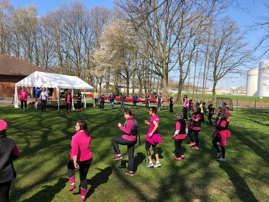 2. Pinke Trauíningslager in Lünen - 2019