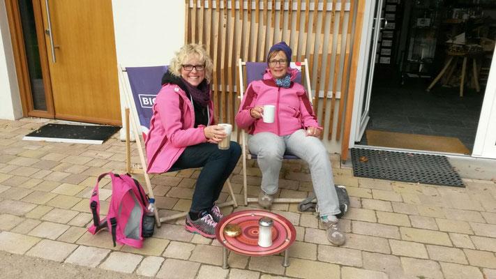 Pink Paddler Trainingslager auf Rügen Okt. 2015