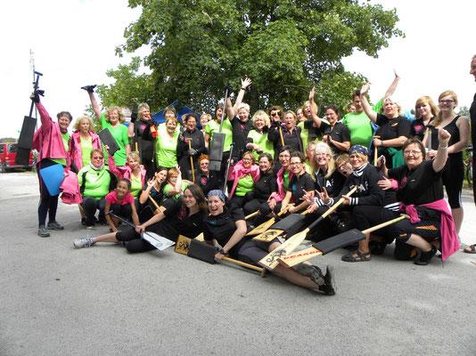 Danke an die Bochumer Mädels, für diesen großartigen Abschluß der Regatta!