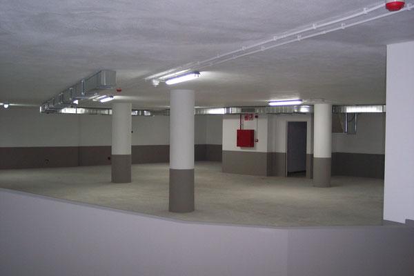 Sistema de detección tipo para garaje