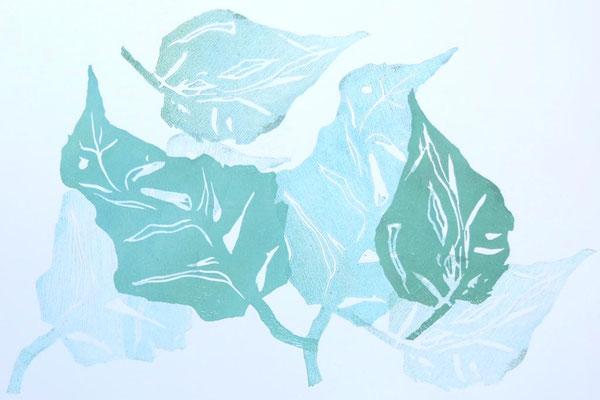 Blätter Mehrfachdruck