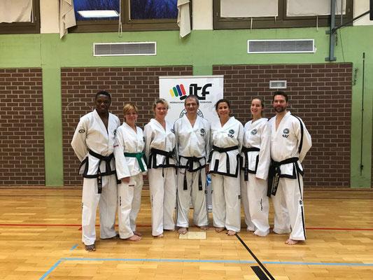 ITF Taekwondo Berlin - Technik-Seminar mit Master Vones in Regensburg