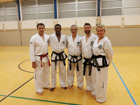 ITF Taekwondo Berlin - Dan-Vorbereitungslehrgang in Langenfeld