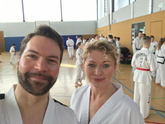 International Instructor Michael Kugele mit Anna Franziska Srna