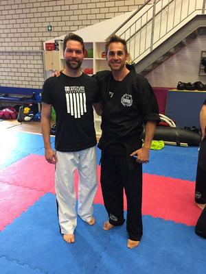 Michael Kugele mit Roland Osborne