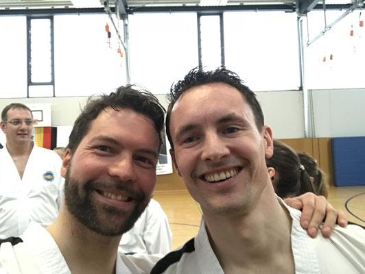 International Instructor Michael Kugele mit Willem Jansen