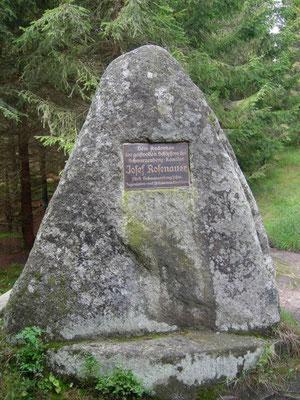 Gedenkstein für Josef Rosenauer