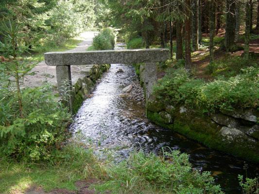 Der Anfang des Schwarzenberg-Kanals