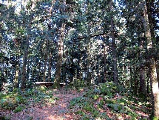 Gipfelkreuz auf dem Staffelberg