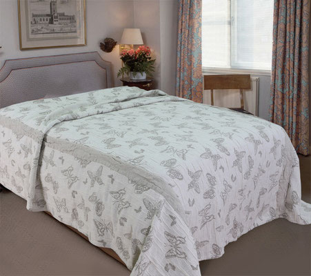 linen bed covers uk
