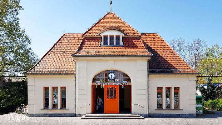Immobilienmakler Hermsdorf - S-Bahnhof Hermsdorf