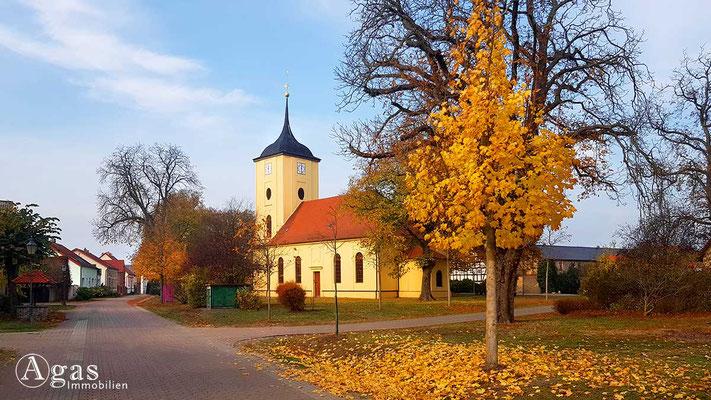 Makler Schönwalde-Glien OT Pausin - Barocke Dorfkirche