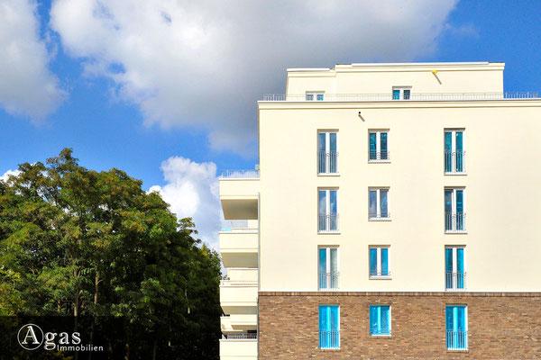 Brunnen Viertel Potsdam - Baufortschritte am Moosfenn