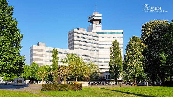Berlin-Westend - Fernsehzentrum des Rundfunk Berlin-Brandenburg