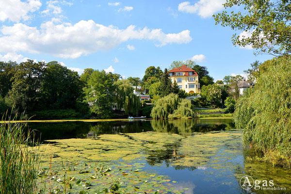 Königssee in der Villenkolonie Grunewald