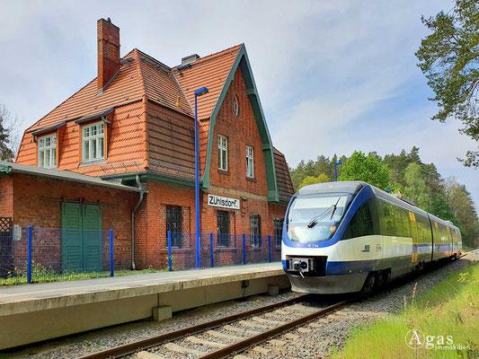Immobilienmakler Zühlsdorf - Bahnhof Zühlsdorf
