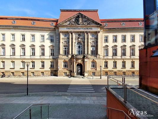 Immobilienmakler Frankfurt (Oder) - Hauptgebäude der Europa-Universität Viadrina
