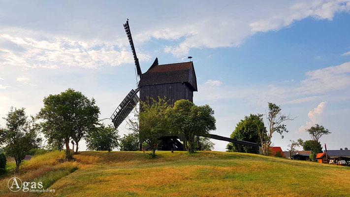 Werder (Havel) - Bockwindmühle am Mühlenberg
