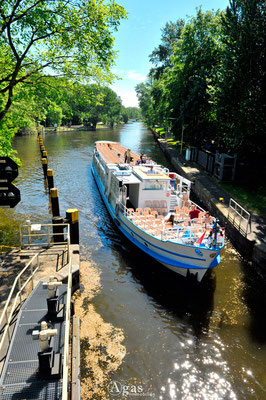 Berlin-Mitte-Tiergarten - Schleuse - Landwehrkanal