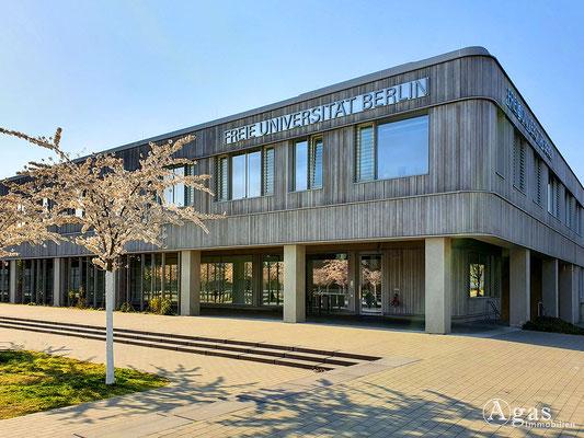 Immobilienmakler Berlin-Dahlem - Freie Universität Berlin