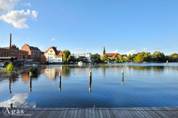 Immobilienmakler Brandenburg (Havel) - Brandenburger Stadtkanal am Mühlendamm