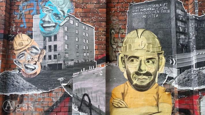 Makler Friedrichshain-Kreuzberg - Graffiti